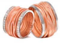 Wedding rings ice collection