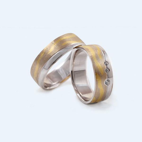 Poročni prstani rumeno zlato