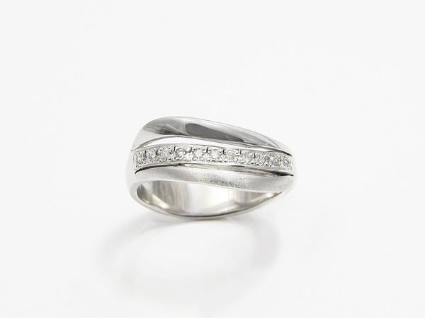Zaročni prstani belo zlato